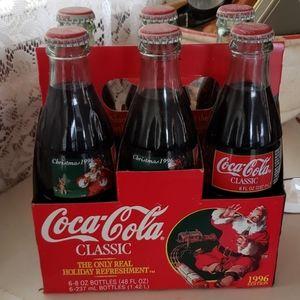 Coca-Cola Classic  1996 Christmas Collectors